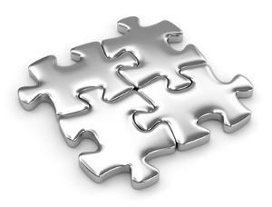 Autogenschweißgerät - Puzzleteile